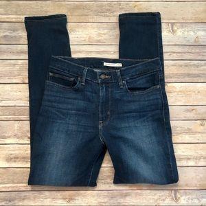 Levi's Slimming Skinny Dark Wash Jeans